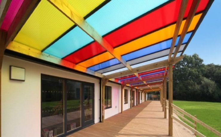 سقف های پلی کربنات